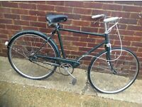 Vintage 1968 Raleigh Popular Traditional Town Bike 3 sp (barn find