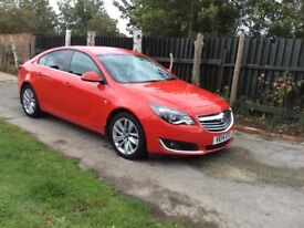 Vauxhall insignia 1.8 2014 red only 36000 thousand miles