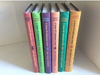 A Series of Unfortunate Events Book Collection 1-6