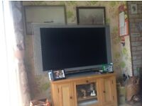 "Sony tv 52"" due to house move must go with wood unit"
