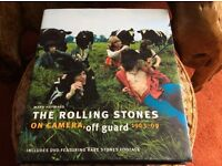 The Rolling Stones on Camera, off guard 1963-69 book and DVD