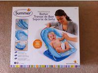 Summer Infant Deluxe Blue Bather