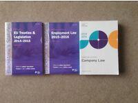 Statute Books for Scots Law Course