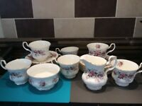Royal Albert Lavender Rose Tea set = Royal Doulton