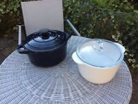 Cast iron pot and oven dish