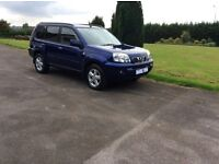 2005 nissan x - trail 2.2 dci sve turbo diesel 6 speed. 4 x 4