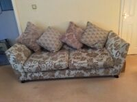 large Sofa and Chair.