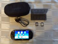 Sony ps vita with case perfect working order bargain