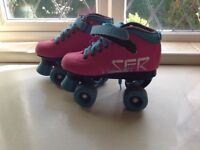 Roller boots size 2