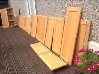 Solid Beechwood Kitchen Units/Cabinet Doors