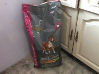 Puppy and adult dog food
