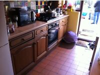 Kitchen cupboards 1 of the best Solid OAKS on market BARGIN PRICE SECOND HAND