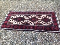 Persian carpet rug approx 6ft x 3ft