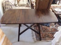 ERCOL drop leaf table and 4 chairs