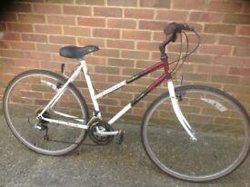 Vintage Ladies Raleigh Pioneer Town Bike 21 Speed