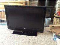 LG 38 inch flat screen Full HD TV Freeview
