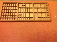 Old printer tray Measurements 32.1/2 x 14