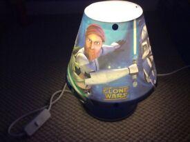 CLONE WARS KIDS LAMP