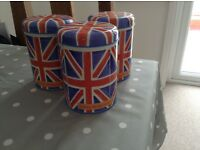 Emma Bridewater tea and coffee canisters