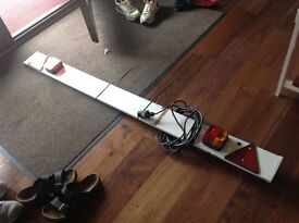 Trailer Light board -as new only used once
