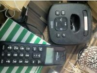 Cordless phone black £10