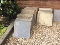 Paving/patio slabs - free for collection