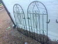 Metal gates x2