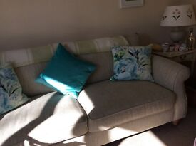 Next large 2 Seater Sofa in Textured Weave Natural