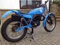 Bultaco Sherpa 198a 250cc,Trials Bike, just fully rebuilt.
