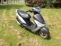2011 Peugeot Vclic V Clic evp2 50cc scooter moped low mileage.