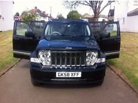 Jeep Cherokee 2.8 TD Limited Station Wagon Auto 4x4 5dr, p/x welcome Sky slider roof , SAT NAV