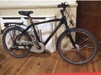 Raleigh Leeds electric assist bike