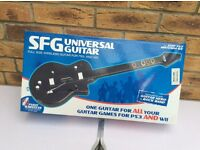 Wireless Guitar for PS3 & Wii games