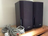 Technics pair of speakers