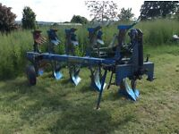 Rabe Eagle 140 5 furrow reversible plough
