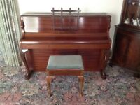 Monington & Weston small upright piano.