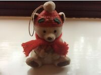 Christmas Teddy Bear Decoration
