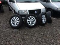 Tyres alloys 18 inch for a t5 or Vw car bargin like new