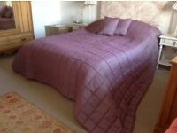 Laura Ashley Quilted Double Bedspread