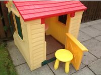 Outdoor Little Tikes Playhouse