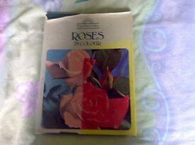 Roses in colour hardback book