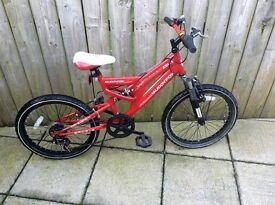 "Boys 20"" Muddyfox bike"
