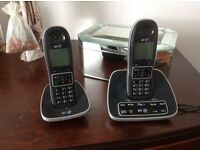 BT 7600 Cordless DECT Phone with Answer Machine and Nuisance Call Blocker (Pack of 2)