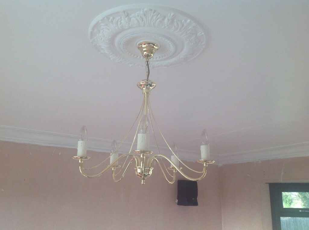 Ceiling Lights Gumtree Belfast : Brass coloured ceiling light in rathfriland county down
