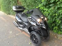 GILERA FUOCO 500cc GREAT COMMUTING SCOOTER FULLY SERVICED DELIVERY CAN BE ARRANGED