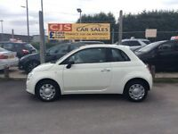 Fiat 500 1.2 petrol 2013 one owner 38000 long mot fullyserviced mint car cheap to run
