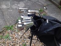 GOLF CLUBS MIZUNO MP 37 IRONS IMMACULATE / AS NEW