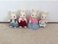 Sylvanian Family Rabbit Family