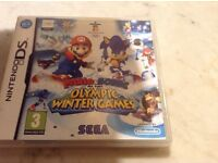 Nintendo Ds Mario and Sonic at the Olympic Winter Games
