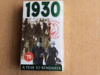VHS - 1930 A Year to Remember- British Pathe